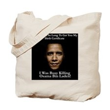 OsamaKillObamaSHIRT Tote Bag