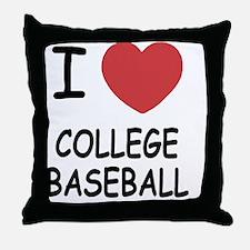 COLLEGE_BASEBALL Throw Pillow
