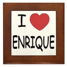 ENRIQUE Framed Tile