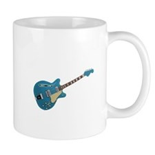Hollow Body Electric Guitar Mugs