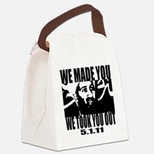 OSAMA_OUT_whiteT Canvas Lunch Bag