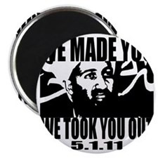 OSAMA_OUT_whiteT Magnet