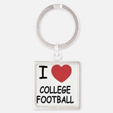 COLLEGE_FOOTBALL Square Keychain