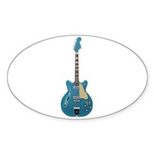 Hollow Body Electric Guitar Decal