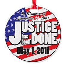 Justice_Has_Been_Done Ornament