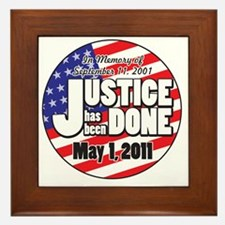 Justice_Has_Been_Done Framed Tile