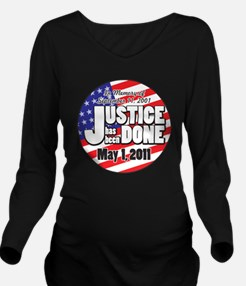 Justice_Has_Been_Don Long Sleeve Maternity T-Shirt