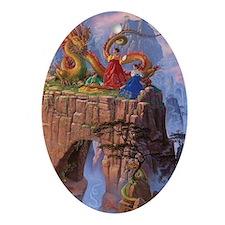 Dragon Serenade_Card Oval Ornament