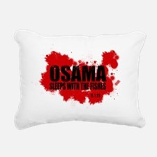 OSAMA_FISHES_2 Rectangular Canvas Pillow