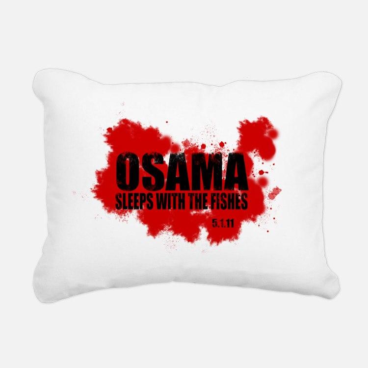 OSAMA_FISHES_2 Rectangular Canvas Pillow