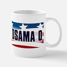 obama osama bumper sticker Mug