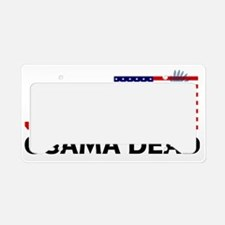 Justice Osama 3 License Plate Holder