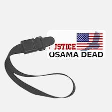 Justice Osama 3 Luggage Tag