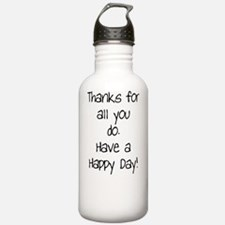 Mom - Thanks for all Water Bottle