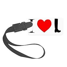 i-love-wellingtons Luggage Tag