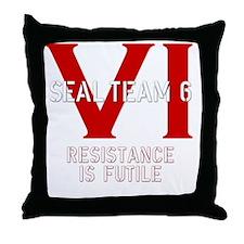 STVIBLACK2 Throw Pillow