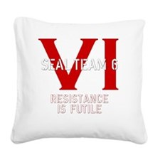 STVIBLACK2 Square Canvas Pillow