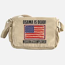 mission accomplished Messenger Bag