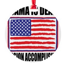mission accomplished Ornament