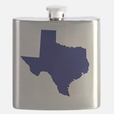 Texas - Blue Flask