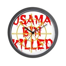 usama bin killed Wall Clock