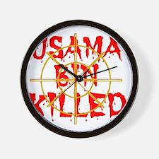 usama bin killed Wall Clock