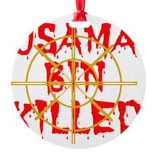 usama bin killed Ornament