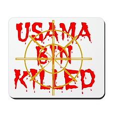 usama bin killed Mousepad
