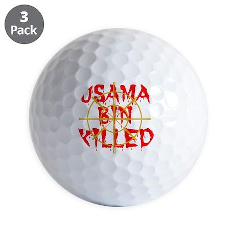 usama bin killed Golf Balls