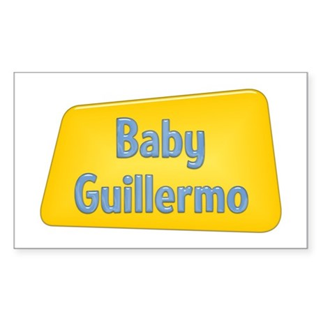 Baby Guillermo Rectangle Sticker