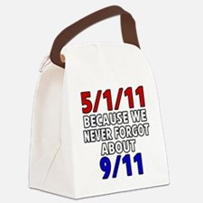5111 because never forgot 911 Canvas Lunch Bag