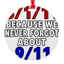 5111 because never forgot 911 Ornament
