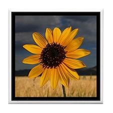 Prairie Sunflower Tile Coaster