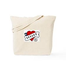 Leland tattoo Tote Bag