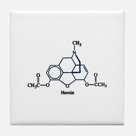 Heroin Tile Coaster