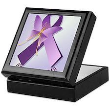 Support Fibromyalgia AwarenessPosterP Keepsake Box