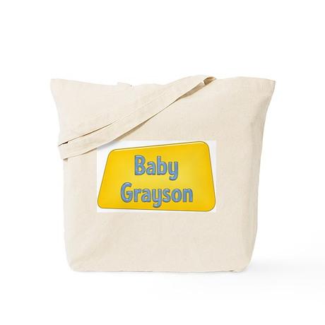 Baby Grayson Tote Bag