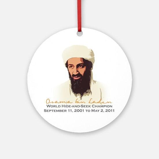 hideandseek Round Ornament