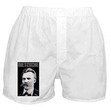 Nietzsche bw Boxer Shorts