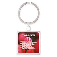 TM wprd Square Keychain