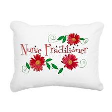 Nurse Practitioner New O Rectangular Canvas Pillow