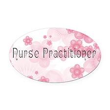 Nurse P 2011 Oval Car Magnet