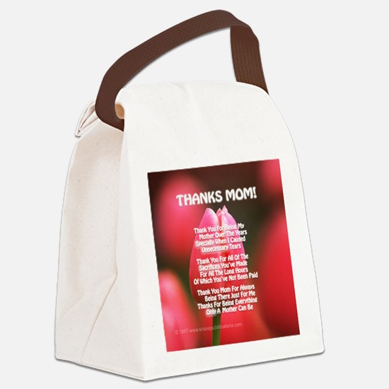 TM esp Canvas Lunch Bag