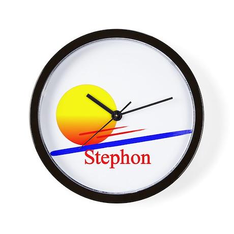 Stephon Wall Clock