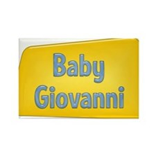 Baby Giovanni Rectangle Magnet