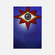 Eye of God Iphone 3G Rectangle Magnet