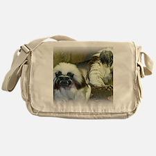 Cotton Top Tamarin BIG Messenger Bag