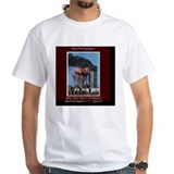 9 11 Mens White T-shirts