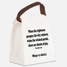 osama_proverb 11 Canvas Lunch Bag
