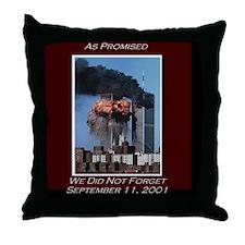 WeNotForget911LRG Throw Pillow